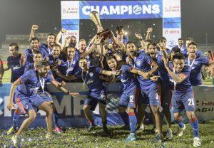 Bengaluru FC I-League celebrations 1