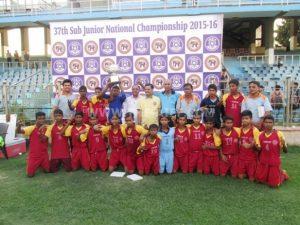 Sub-Junior Champions - West Bengal