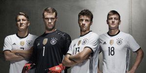 adidas - Germany 2016 home kit