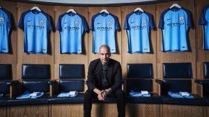 Nike -Manchester City 2016 home kit - Guardiola