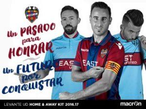 macron - Levante 2016 kits