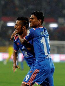 FC Goa - Mandar Rao Desai - Romeo Fernandes