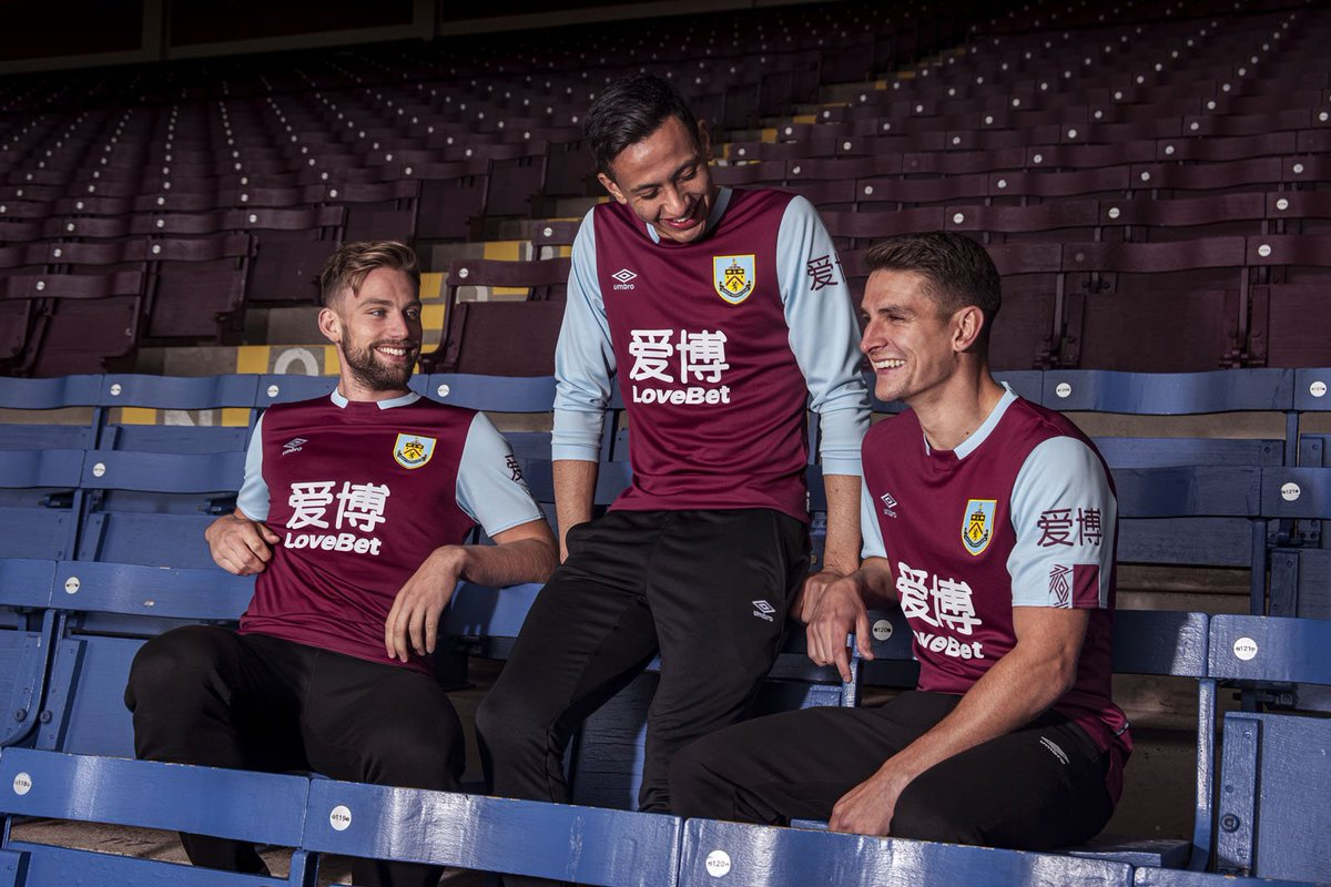 UMBRO & Burnley FC launch new 2019/20 season home kit!