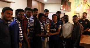 Lallianzuala Chhangte felicitates winners of inaugural Workafella – Chennaiyin FC Futsal 2020!
