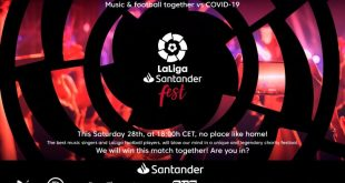 LaLiga Santander Fest set to bring music & sport together to beat COVID-19!