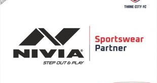 Thane City FC partners Nivia Sports in two year deal!