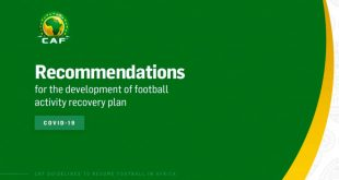 CAF releases guidelines for restart of competitions!