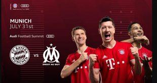 Bayern Munich to play friendly against Olympique Marseille!
