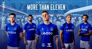Everton FC & hummel reveal 2020/21 home kit!