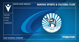 Macron is new Technical Sponsor of Baniyas Sports & Cultural Club!