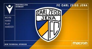 Macron new Technical Sponsor of FC Carl Zeiss Jena!
