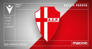 Macron is new technical sponsor of Calcio Padova!