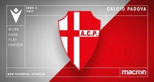 Macron is new technical sponsor of Calcio Padova!