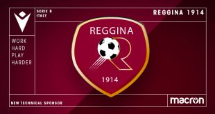 Macron new Technical Sponsor of Reggina 1914!
