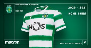 Macron & Sporting Clube de Portugal launch 2020/21 home kit!