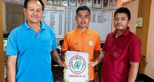 NEROCA sign teenage midfielder Lael Shongsir!