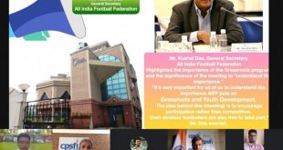 AIFF join hands with CPSFI to promote grassroots football!