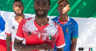Errea Sports launch Equatorial Guinea 2020 season kits!