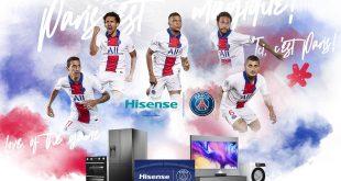 Hisense and Paris Saint-Germain announce global partnership!