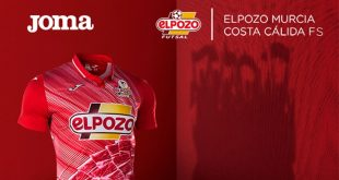 Joma presents kits of ElPozo Murcia Costa Cálida FS for coming season!