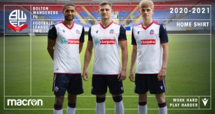 Macron is new Technical Sponsor of Bolton Wanderers, unveils new home kit!