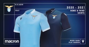 Lazio Roma & Macron unveil the new home & third kits for 2020/21 season!