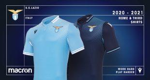 Lazio Roma & Macron unveil the new home & third kits for 2020/21 season!