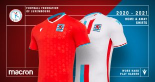 Macron & Luxembourg FF have presented the new kits for the Red Lions!