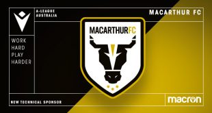 Macarthur FC & Macron sign long-term apparel & retail partnership deal!