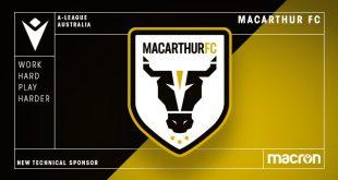 Macarthur FC & Macron sign long-term apparel & retail partnership deal!