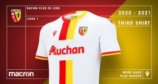 Macron & RC Lens reveal the clubs new third kit!