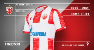 Macron & Red Star Belgrade reveal new home kit for 2020/21 season!