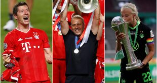 Germany's 2020 Player of the Year: Honours of Lewandowski, Flick & Harder!