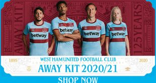 UMBRO launch West Ham United 125th commemorative anniversary away kit!