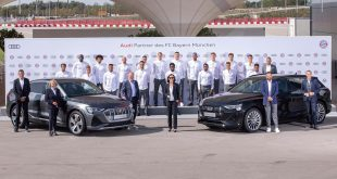 Audi help Bayern Munich go electric!