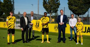 adesso is the new main youth sponsor of Borussia Dortmund!
