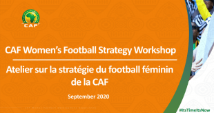 Women's football at the heart of CAF development program!