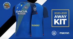 Macron launch new Udinese Calcio 2020/21 season away kit!