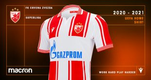 Macron launch new Red Star Belgrade UEFA Europa League kit!