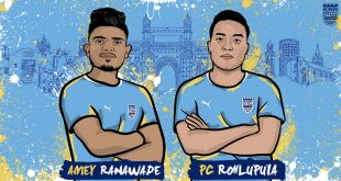 Mumbai City FC sign young duo of Amey Ranawade & PC Rohlupuia!