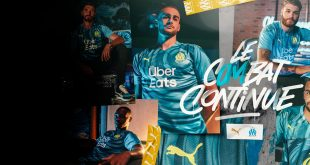 PUMA launches music inspired Olympique Marseille third kit!