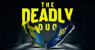 UMBRO launch Blue Sapphire/Lime Punch/White boot packs!