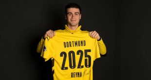 Borussia Dortmund extend Gio Reyna's contract until 2025!