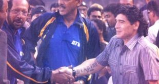 Indian football icons mourn 'inspirational' Diego Maradona's demise!