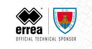 Errea Sport & CD Numancia technical partnership renewed!