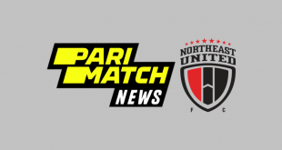 Parimatch News join NorthEast United FC as Main Sponsor for ISL-7!