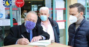 Asteras – Macron: 5.000 masks for the Panarcadian General Hospital of Tripolis!
