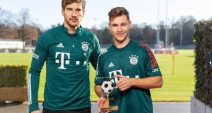 German Football Ambassadors award for Joshua Kimmich & Leon Goretzka!