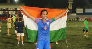 Ashalata Devi: Impressed by the efforts to take Women's football forward together!