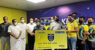 Kerala Blasters launch 'Blaster Card' in association with EWire Soft!